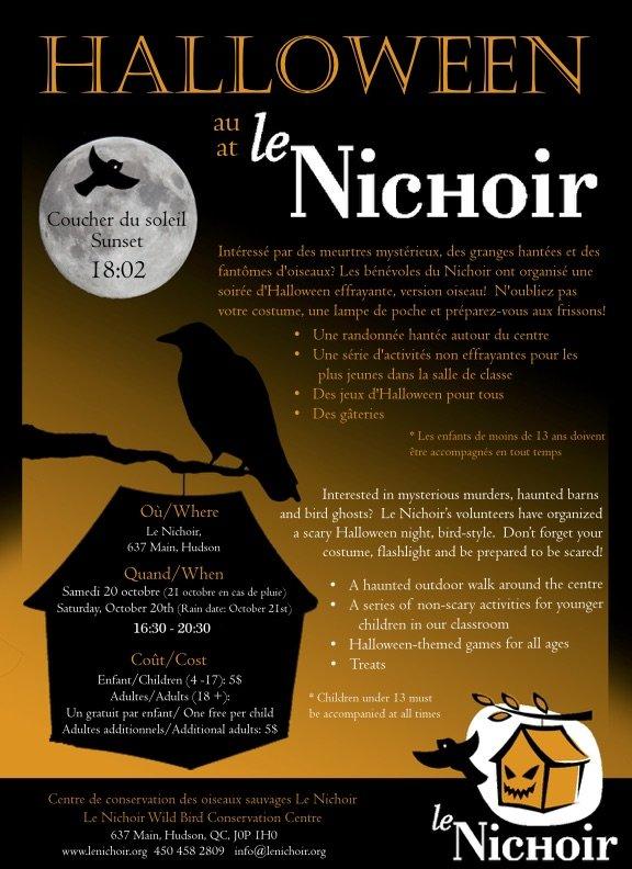 Halloween au Nichoir