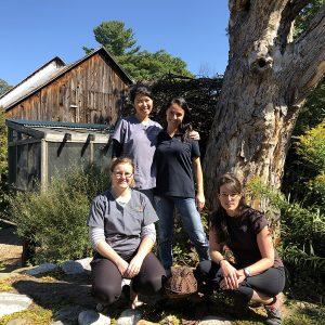 Susan, Jo-Annie, Weiyi and Amanda