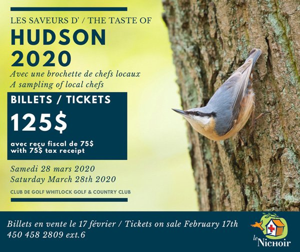 Les saveurs d'Hudson 2020